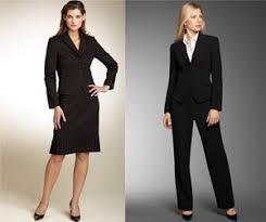 women interview suits