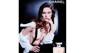 chanel perfume advertising