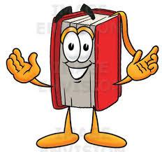 cartoon open books