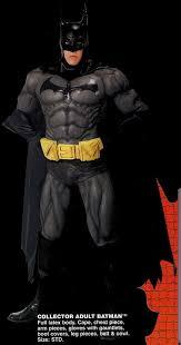 batman collectors costume
