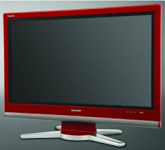red lcd tvs