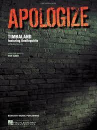 klaviernoten apologize