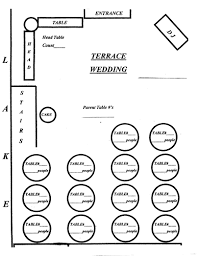 banquet seating chart