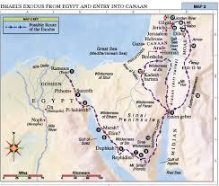 biblical maps of israel