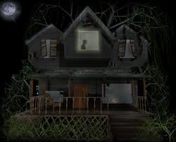 looking haunted house