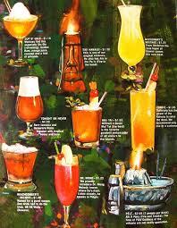 cocktail menu designs