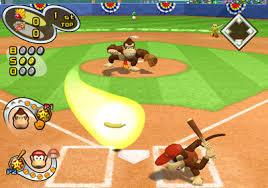 mario baseball game cube