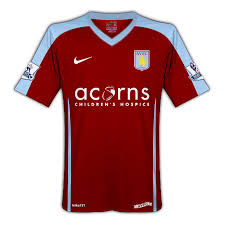 aston villa new kit