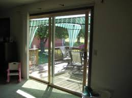 patio door window covering