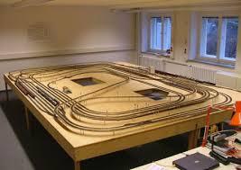 model railway tracks
