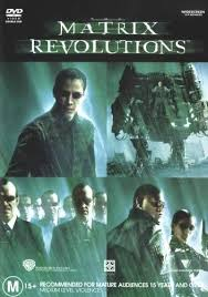 matrix revolutions dvd