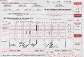 drivers log book