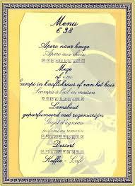 exemple carte menu