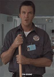scrubs janitor