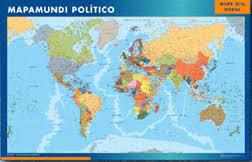 mapa del mundo entero