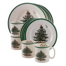 spode christmas trees