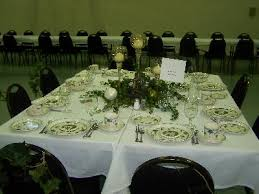 parade of tables