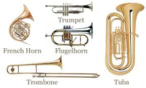 all the brass instruments