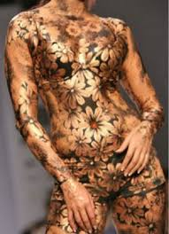 indian body paint