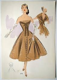late fifties fashion