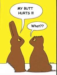 a picture of the easter bunny