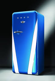 blue mini fridges
