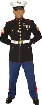 marine corps dress blue uniform