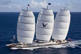 luxury sailboat