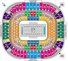 bank of america stadium seating