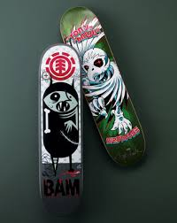 bam skate boards