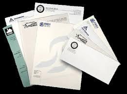 letterheads envelopes