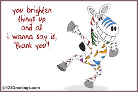 thank you friend card
