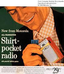 pocket transistor radios