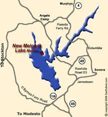 california lake map