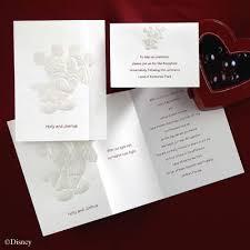 disney wedding invites