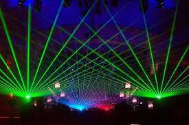 flashing rave lights