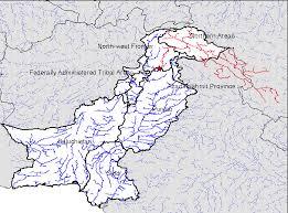 indus river location