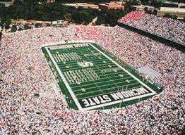 michigan state university football stadium