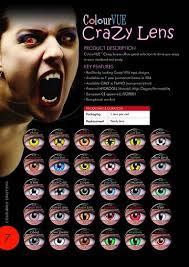 crazy contact lense