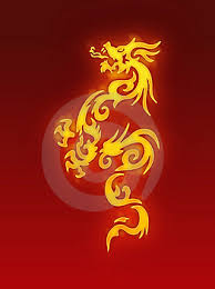 chinese fire dragons