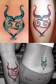 taurus sign tattoo