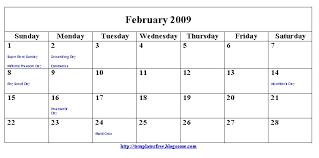 2009 calendar printables