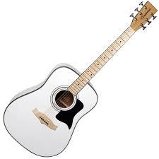 white acoustic