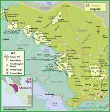 alajuela mapa