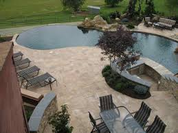 outdoor travertine