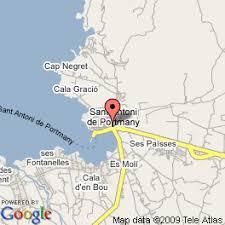 ibiza hotels map
