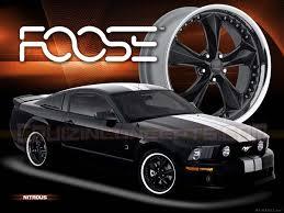 foose wheels mustang