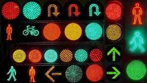 traffic led
