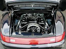 porsche 911 turbo engine