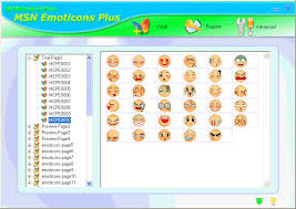 smiley icons for msn